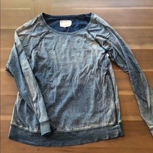 Distressed Anthropologie Shirt